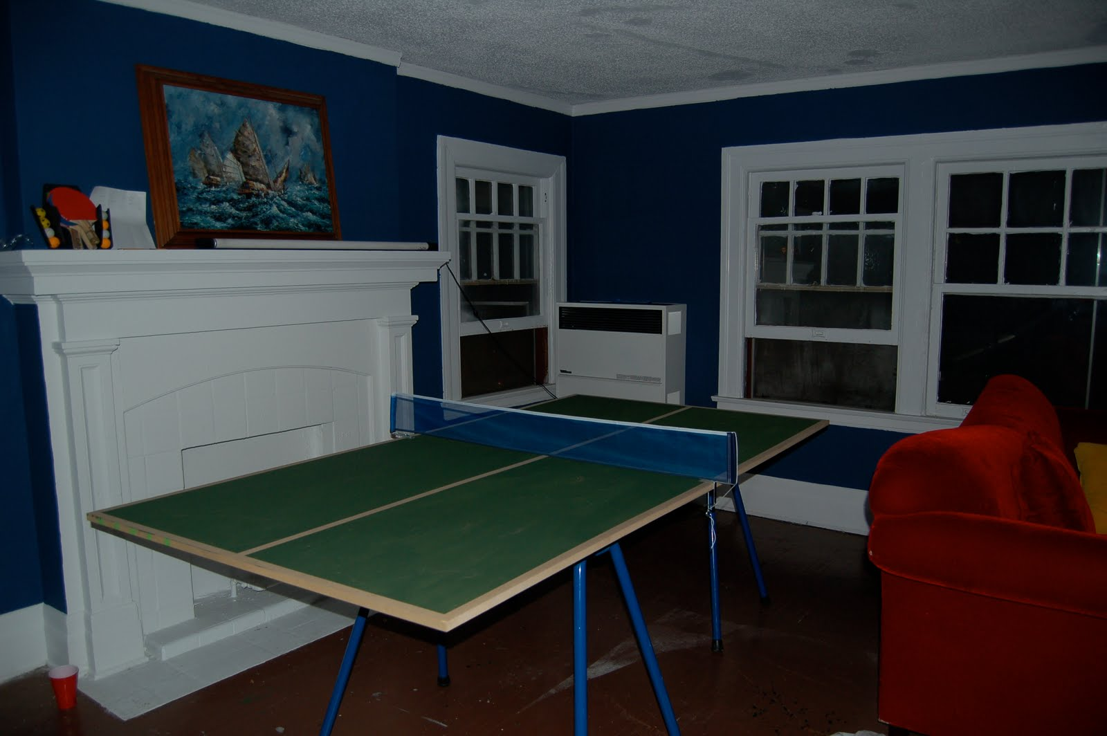 All In One Ping Pong Table